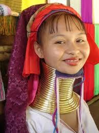 首長族の女性(写真)
