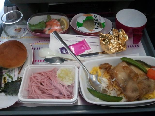 タイ国際航空の機内食