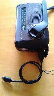 手回し式ラジオ