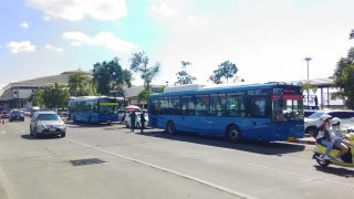 空港から出ているcityバス