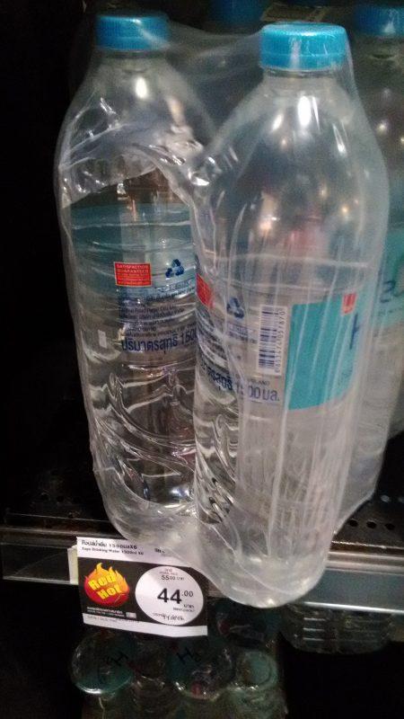 スーパーマーケットで売っている安い水
