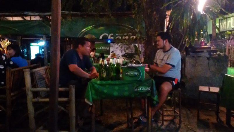 タイ人とビール