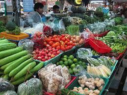 タイの市場の写真