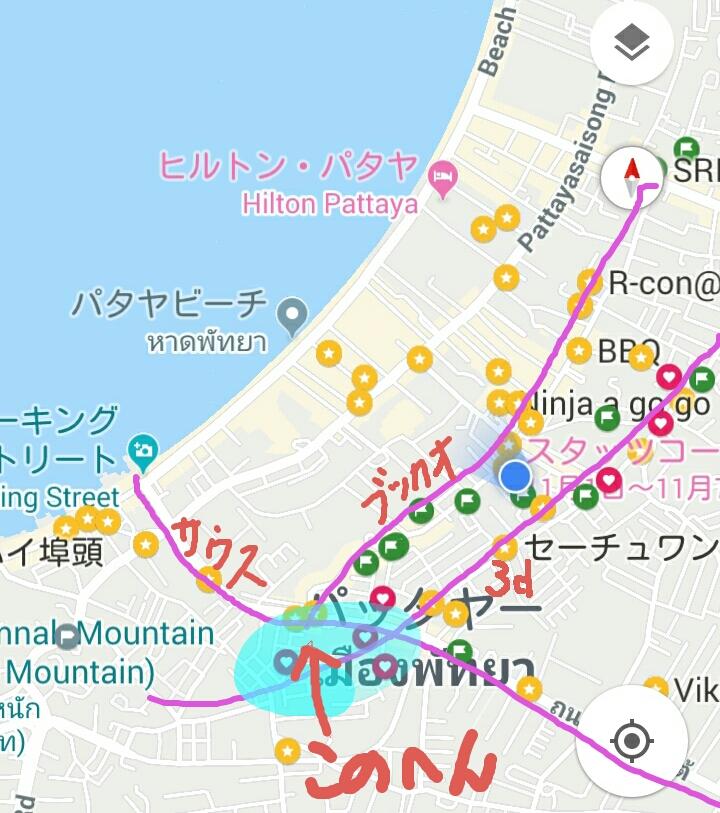 アパートメントの地図