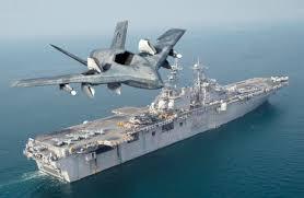 ロッキード・マーチン戦闘機と空母