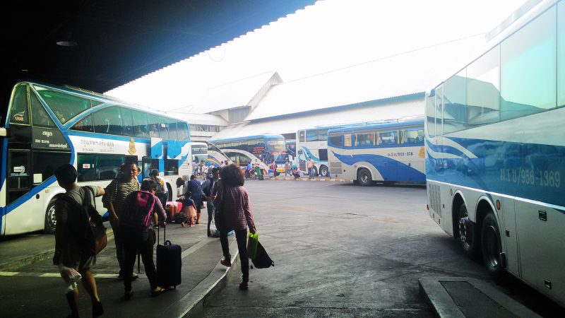 バンコクのモーチット・バスターミナル