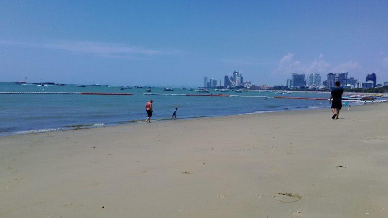 今のパタヤビーチ