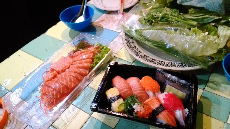 寿司と刺身