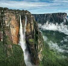 【旅】おすすめの秘境:ベネズエラの奥にあるエンジェルフォール