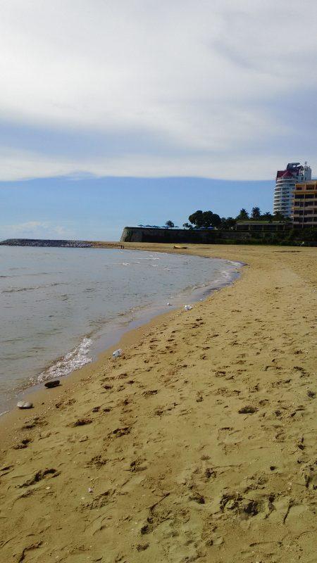 パタヤビーチの北端