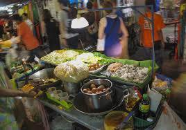 タイの屋台料理