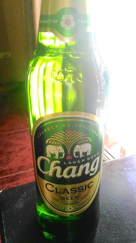 チャンビール大瓶