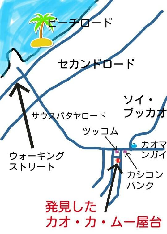 パタヤの美味しいカオ・カ・ムー屋台【カブとタイ】kabutotai.net