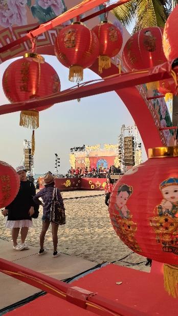 パタヤビーチの春節イベントkabutotai.net