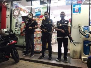 パタヤの武装パトロール警官:kabutotai.net
