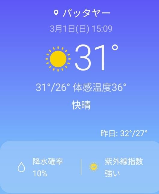 パタヤは夏入り宣言:kabutotai.net