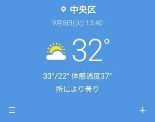 今日の気温:kabutotai.net
