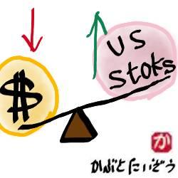 米ドルを安いうちに買っておいて、米国株が下がったら買うというダブルチャンス