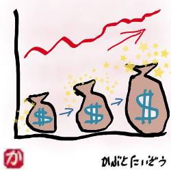 ドル資産が増える:kabutotai.net
