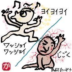 狂喜乱舞と阿鼻叫喚:kabutotai.net