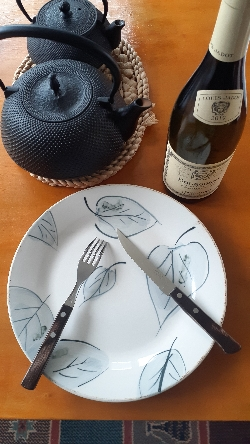 トラモンティーナのナイフ&フォーク:kabutotai.net
