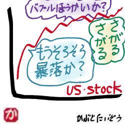 世間の「株価暴落説」を尻目に、昨夜またNYダウが史上最高値を更新