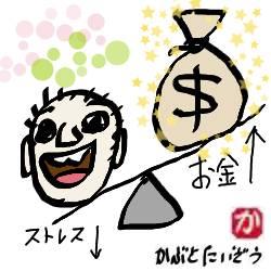 ストレスとお金:kabutotai.net