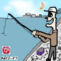 石狩湾新港に小サバ釣りに行ってきた
